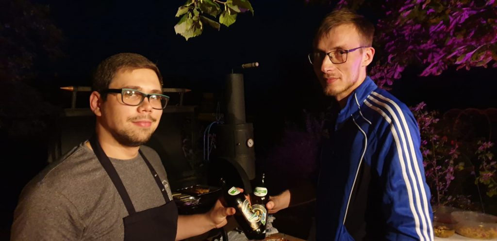 Sommerfest Wartenberg Rheuma-Liga Grillmeister